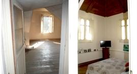 Camera da letto in torretta