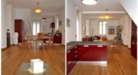 P.I: Il soggiorno e la cucina