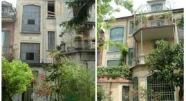 Prima e dopo: modifica di facciata interno cortile