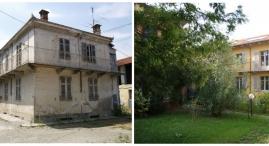 Prima e dopo: edificio B