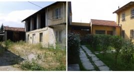 Prima e dopo: edificio C