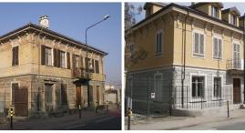 Prima e dopo: edificio A