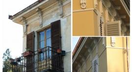 Prima e dopo: particolari edificio A