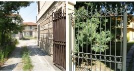 Cancello d'ingresso agli edifici B-C-D